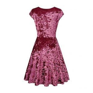 Women's V Neck Casual Dress